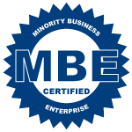Certified woman-owned MBE (Minority Business Enterprise)