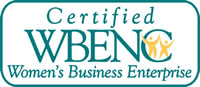 Certified WBENC (Women's Business Enterprise)