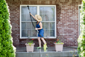 Pressure Washing Home Exterior