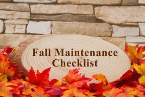 fall maintenance checklist commercial roofing