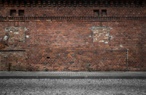 old brick building commercial restoration needed