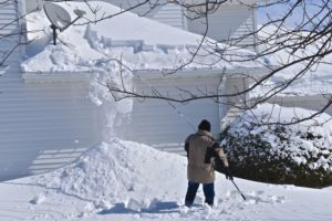 roof heavy snow removal building restoration needed