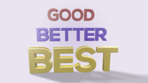Good Better Best commercial roofing products