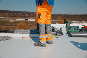 TPO Roofing Membrane Contractor Commercial Roof Project